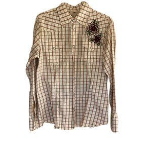 Joystick LS XL Shirt Embroidered Pearl Snap